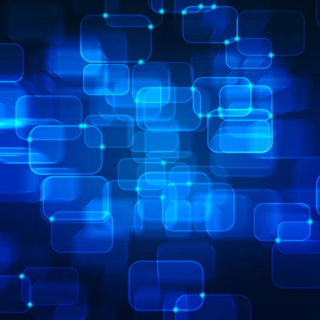 high technology: Abstract technology background. Useful as high technology background in blue color.