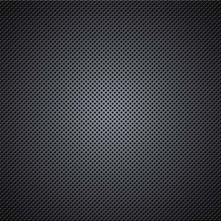 black metal background: Metal mesh texture background with reflections Stock Photo