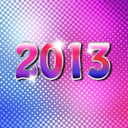 Happy New Year 2013 Stock Photo - 16663225