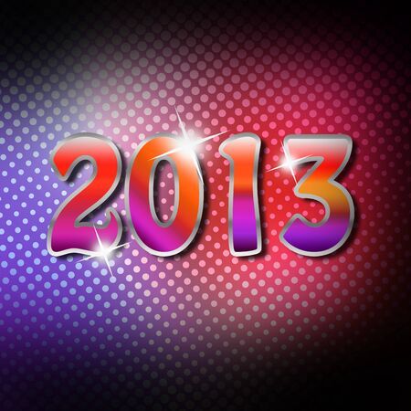 Happy New Year 2013 Stock Photo - 16663216