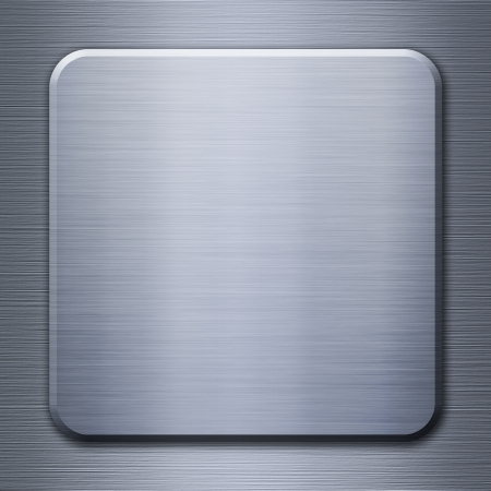 Metal background or texture - two pieces of metal aluminum and steel Stock Photo - 16663240