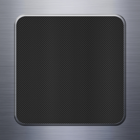 Carbon fibre texture and aluminum metal plate background Stock Photo - 16663234