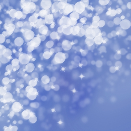 Winter lights on bright  background Stock Photo - 16828418