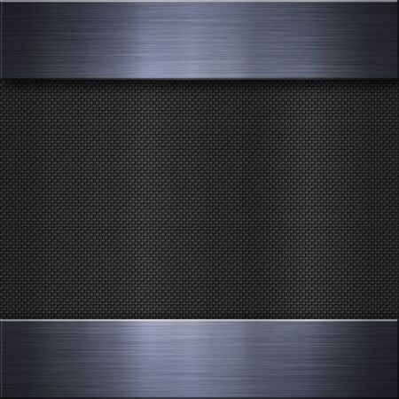 stainless background: Brushed metal aluminum background or texture Stock Photo
