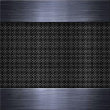 aluminum background: Brushed metal aluminum background or texture Stock Photo