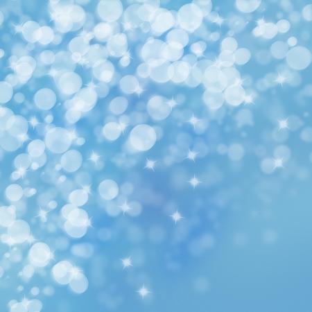 blink: Winter lights on bright  background