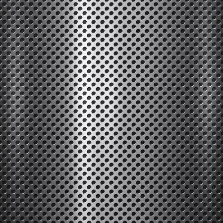 그리드: 작은 구멍 배경 또는 질감과 금속 메쉬