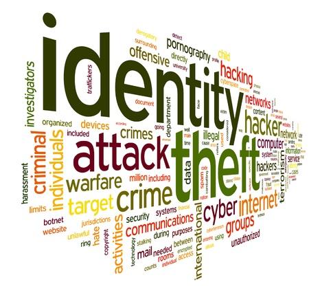 単語タグクラウド白い背景で隔離の輩盗難コンセプト