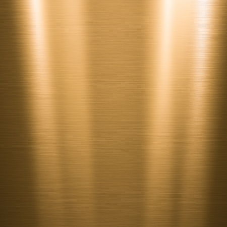 METAL BACKGROUND: Metal background or texture of brushed gold  plate