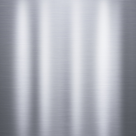Metal background or texture of brushed aluminum  plate Stock Photo - 18684144