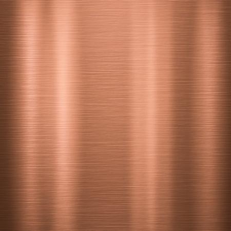 of copper: Metal de fondo o la textura de la placa de cobre pulido
