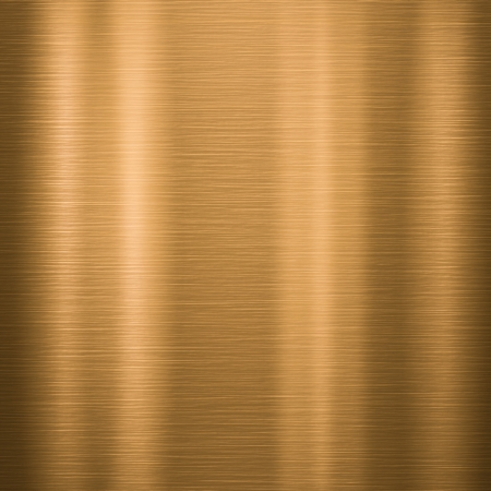 Metal background or texture of brushed gold  plate Stock Photo - 18684148
