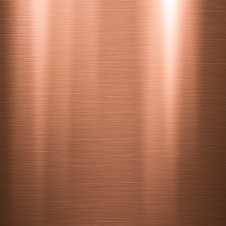 copper background: Metal background or texture of brushed copper  plate