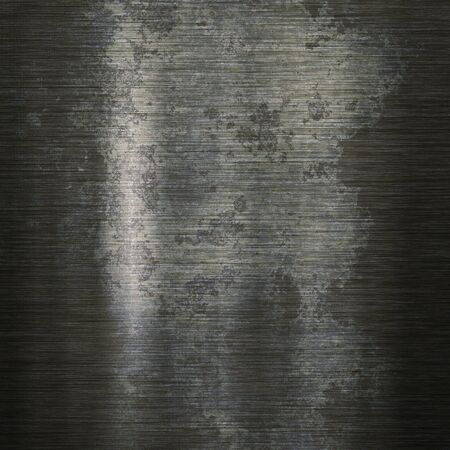 metal texture: Grunge background or texture of brushed steel plate Stock Photo