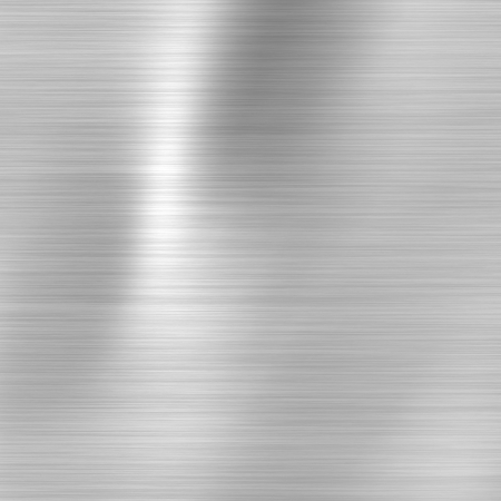 aluminum texture: Metal background or texture of brushed steel  plate
