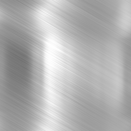 brushed aluminum: Metal background or texture of bright aluminum sheet