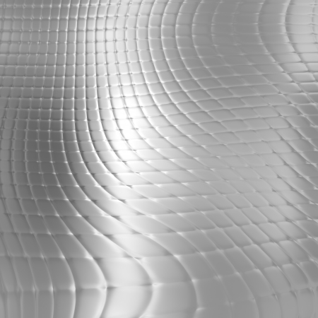 Abstract metal silver checked pattern background photo
