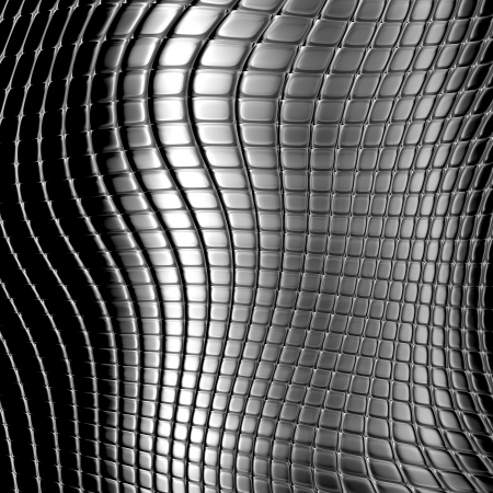 Dark metal checked pattern background photo