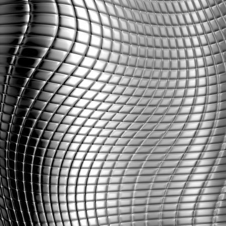 Dark metal checked pattern background photo