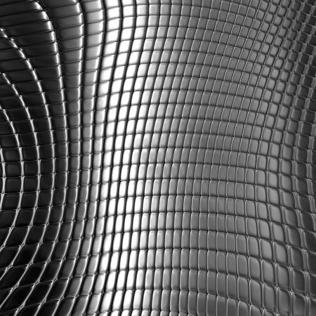 暗い金属チェック バック グラウンド パターン 写真素材