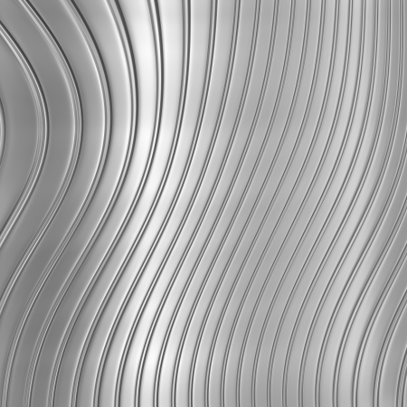 Aluminum silver stripe pattern background photo