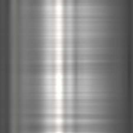 Background or texture of dark brushed steel  plate Stock Photo