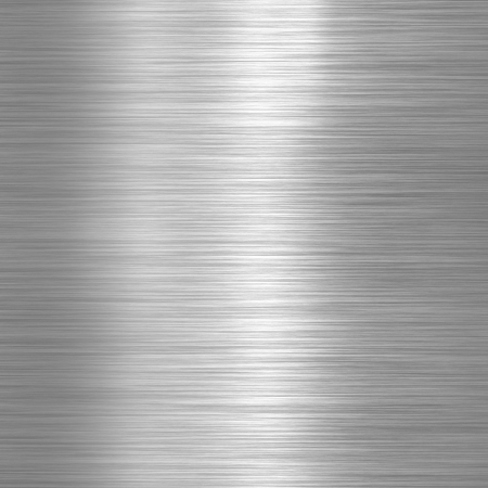 aluminium texture: Aluminium brushed plate background or texture Stock Photo