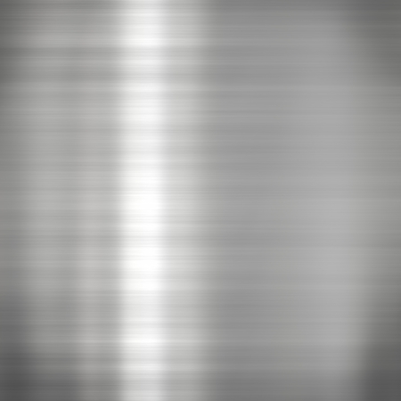 silver alloy: Background or texture of dark brushed steel  plate Stock Photo