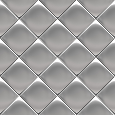 Metal background or texture of checked aluminium plate photo
