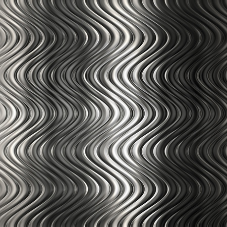 Aluminum silver  pattern background with twisted stripe
