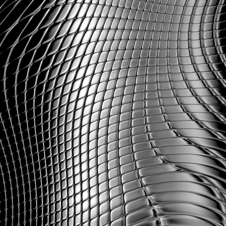 texture twisted: Metal silver checked  pattern