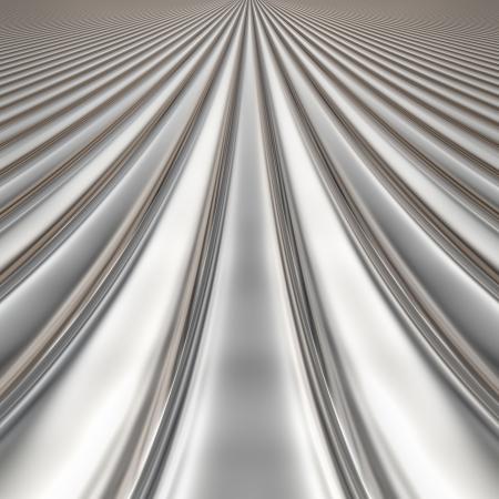 stainless steel sheet: Metal silver striped pattern