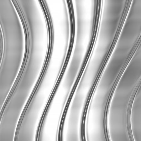 Metal silver striped pattern photo
