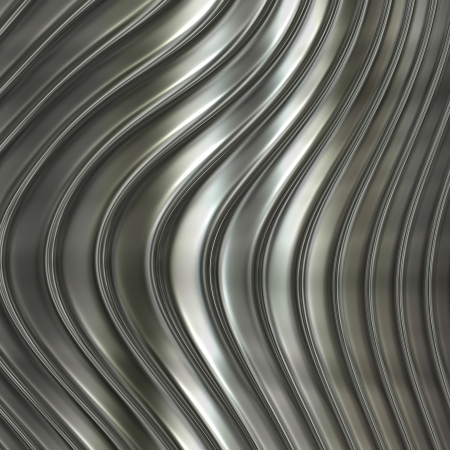 Aluminum silver  pattern background with twisted stripe photo
