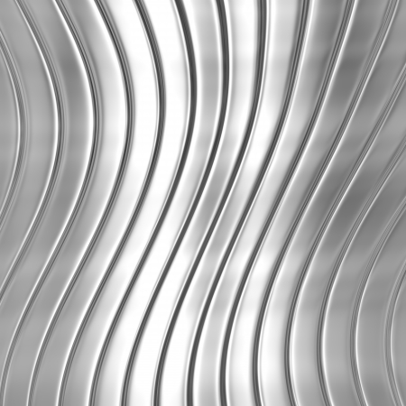 Metal silver striped pattern Stock Photo - 23984186