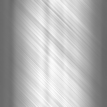 brushed aluminum: Metal background or texture of light brushed steel  plate