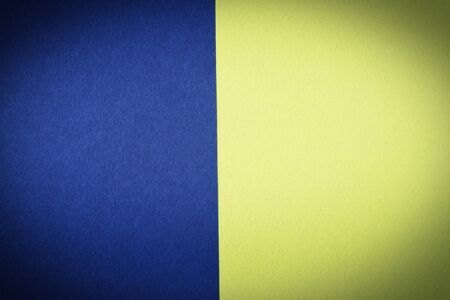 Colored  yellow and blue color chunks of felt fabric pattern