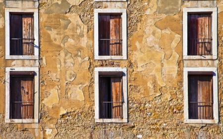 Portugal, Lissbon Windows  Cityscape closeup Zdjęcie Seryjne
