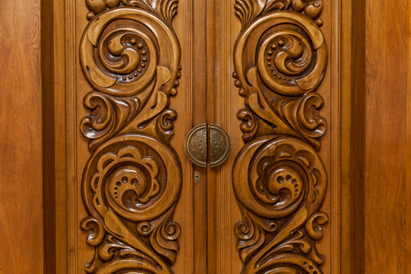 vintage wooden carved door wooden doors with abstract carving