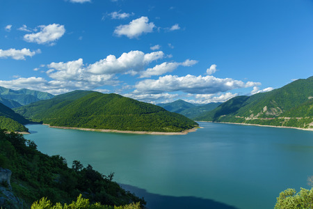 Tbilisi Reservoir in the mountains. Reservoir in the mountains.