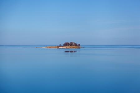 uninhabited small island in the Kiev Sea