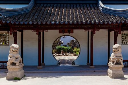 Calm Garden, Traditional Chinese Architecture and Sculpture Malta, Santa Lucija.