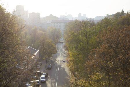 Panoramic view of the city of Kiev.