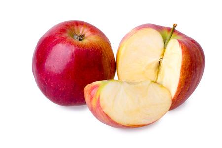 sliced apple: fresh sliced apple