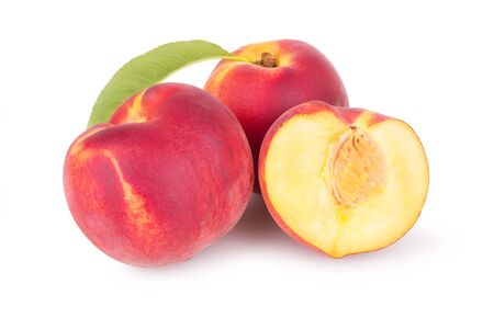 juicy: juicy peaches with slice