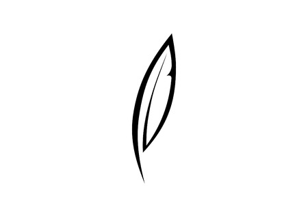 scribe: Feather icon  Illustration