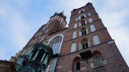 poland: Church in Krakow, Poland
