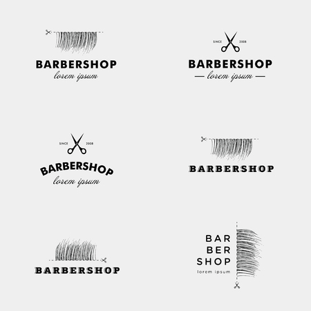 barbershop: Vector logo for a barbershop