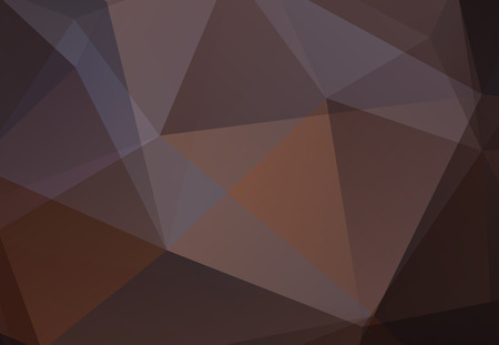 Brown abstract polygonal background for a web and the press. 向量圖像