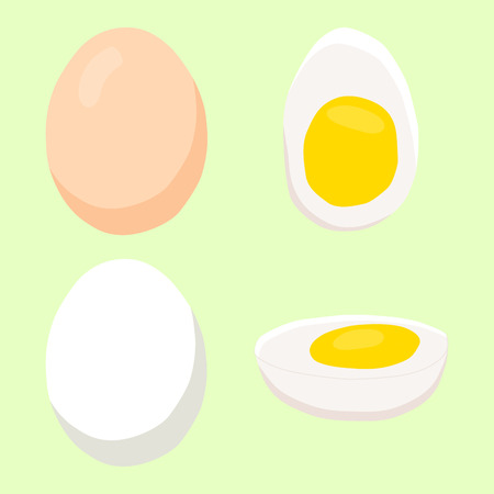 Abstract vector illustration for eggs.